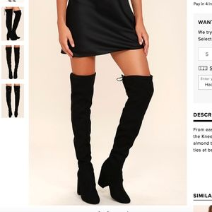 Steve madden norri over the knee boots